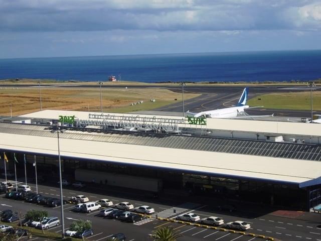 Der Flughafen in Ponta Delgada