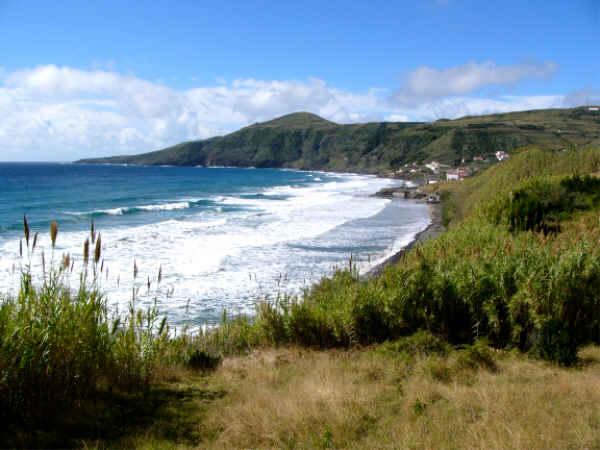 Die Badebucht Praia Formosa