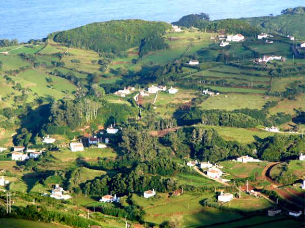 Blick vom Pico auf Santa Maria