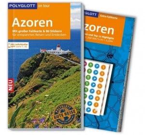 2 Bücher, Reiseführer Azoren