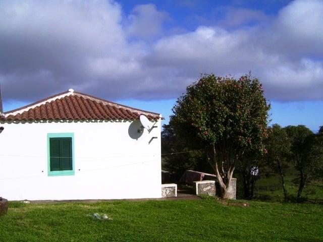 Das Haus von der linken Seite