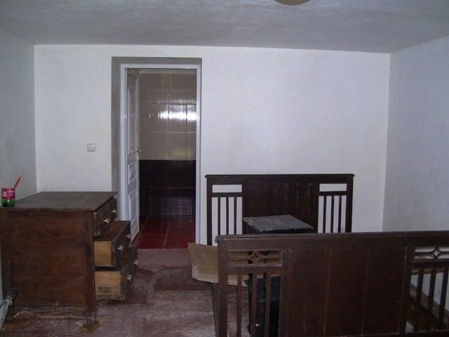 Das separate Schlafzimmer unten